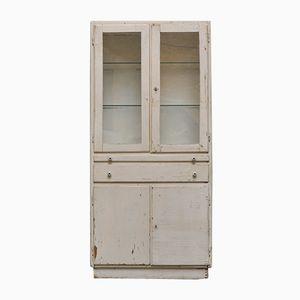 Vintage Wooden Medicine Cabinet, 1940s