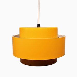 Lámpara de araña Juno amarillo oscuro de Jo Hammerborg para Fog and Mørup, años 60