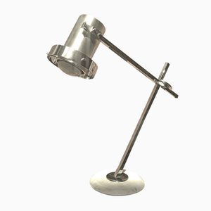 Chromed Steel Table Lamp, 1970s