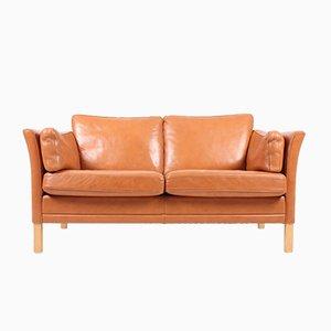 Sofá de dos plazas de Mogens Hansen, años 80