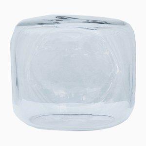 Transparent Glass Vase by Alfredo Barbini, 1960s