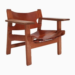 Spanish Chair von Børge Mogensen für Fredericia Stolefabrik, 1967