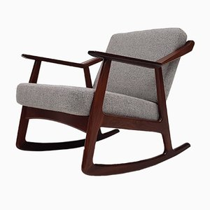 Mid-Century Rocking Chair by H. Brockmann-Petersen, 1960s