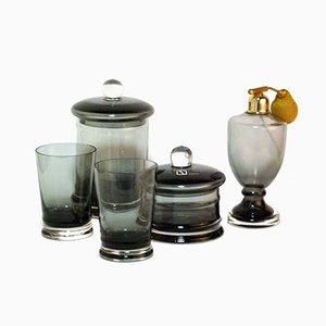 Glass Perfume Set by Carlo Nason for Seguso, 1960s