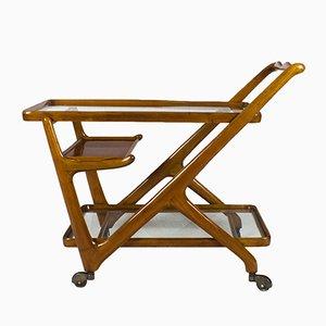 Chariot Bar par Cesare Lacca pour Cassina, Italie,1950s