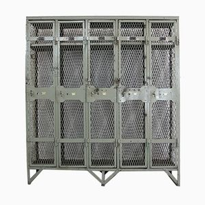 Antique Industrial Lockers from Wall's & Co