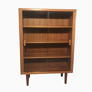 Mid-Century Danish Teak Display Cabinet from Dyrlund
