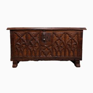 Antique French Oak Commode