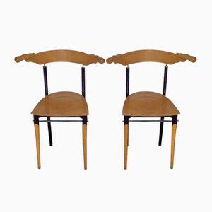 Jansky Stühle von Borek Sipek für Driade, 1989, 2er Set