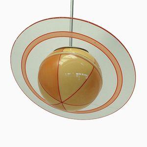 Vintage Saturn Deckenlampe, 1930er