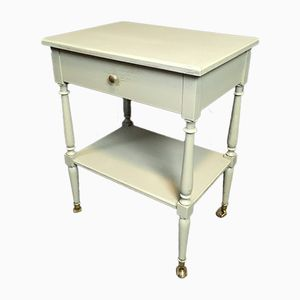 Antique French Sidetable on Wheels