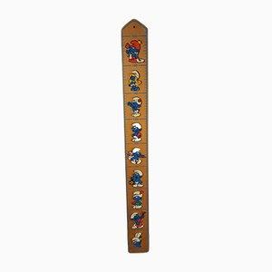 Vintage Schlumpfparade Measuring Rod by Peyo & Mertens Kunst, 1978