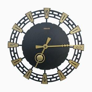 Reloj de pared vintage de Kienzle International, años 70