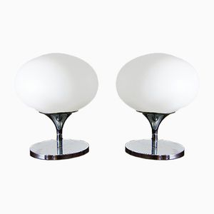 Space Age Table Lamps from Kaiser Idell, 1960s, Set of 2