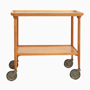 German Tea Trolley on Large Casters