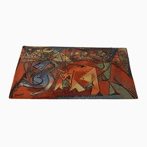 Alfombra artística 'Running of the Bulls' Pablo Picasso de Ege Axminster, 1994