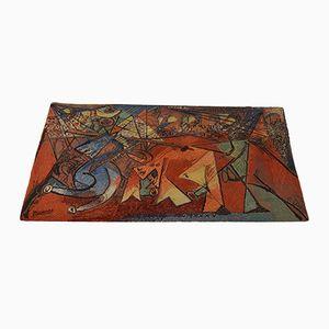 Tappeto con 'Running of the Bulls' di Pablo Picasso di Ege Axminster, 1994