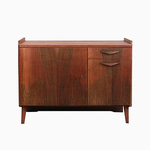 Vintage Walnut Sideboard from Tatra
