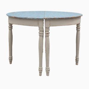 Tables Console Demi Lune, 1890s, Set de 2