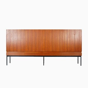 B60 Teak Highboard by Dieter Waeckerlin for Behr, 1950s