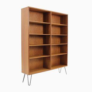 Dänisches Eichenholz Bücherregal von Børge Mogensen, 1960er