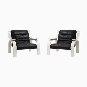 Woodline Armchair by Marco Zanuso for Arflex, 1964, Set of 2