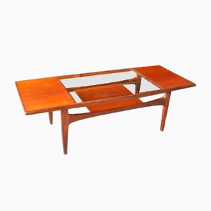 Mid-Century Teak Coffee Table by Victor Wilkins for G-Plan