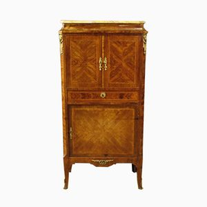 French Cabinet with Marble Top, 1950s