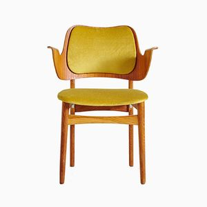 Mid-Century Teak Armchair by Hans Olsen for Bramin