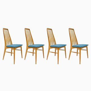 Eva Chairs by Niels Koefoed for Hornslet Møbelfabrik, 1960s, Set of 4