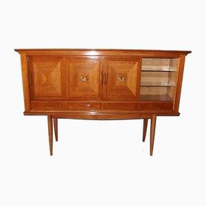 Buffet vintage in stile neoclassico in betulla di André Arbus