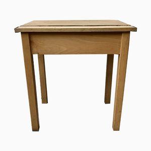 Mid-Century Wooden Child's School Desk