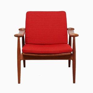 Vintage Danish Spade Chair by Finn Juhl for France and Daverkosen
