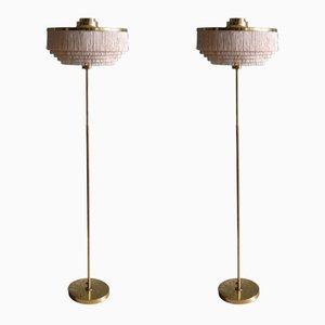 Model G-110 Floor Lamps by Hans-Agne Jakobsson, 1960s, Set of 2