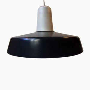 Grey & White Midtpunktspende Pendant Lamp from Louis Poulsen, 1960s