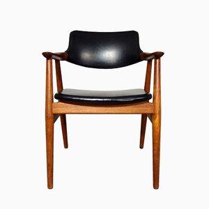 Vintage Teak Armlehnstuhl von Erik Kirkegaard für Glostrup, 1960er
