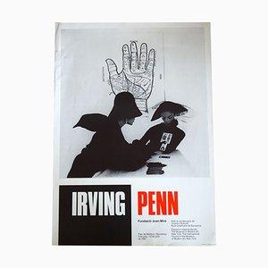 Póster de exhibición Irving Penn, 1987