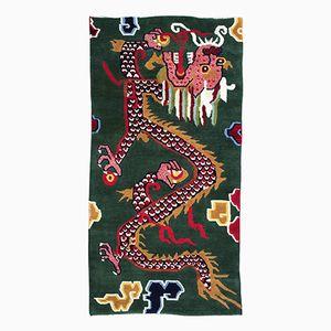 Tibetischer Drachen Teppich, 1960er