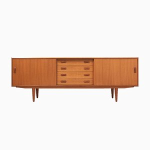 Mid-Century Danish Teak Sideboard from Clausen & Son