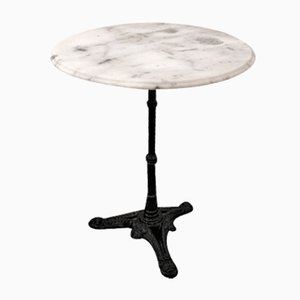 Vintage Side Table with Marmor Top