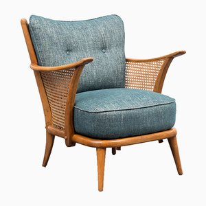 Sessel mit Wiener Geflecht, 1950er