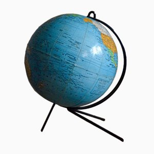 Vintage Tripod Globe from Girard et Barrère