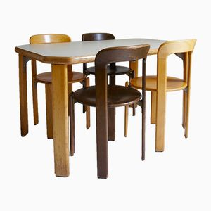 Dining Set by Bruno Rey, 1970s