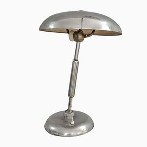 Vintage Metal Table Lamp, 1940s