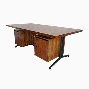 Großer Mid-Century Palisander Schreibtisch von Friso Kramer & Coen de Vries für Eeka, 1960er
