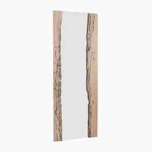 Specchio con cornice a forma di canale veneziano di Francomario, 2017