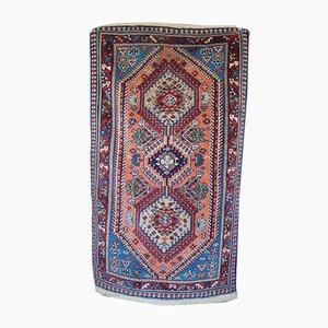 Alfombra Yalameh persa vintage tejido a mano, años 70