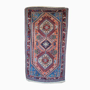 Tappeto Yalameh vintage persiano di lana fatto a mano, anni '70