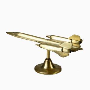 Modelo de avión de latón de RAB, años 60