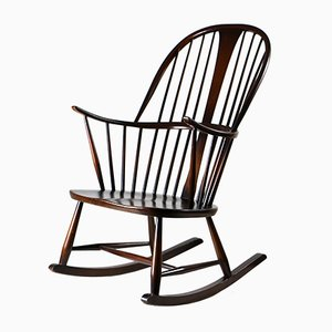 Mid-Century Rocking Chair by Lucian Ercolani for Ercol